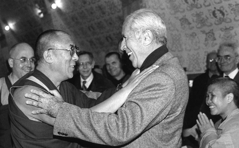 Arnaud Desjardins et le Dalaï-Lama