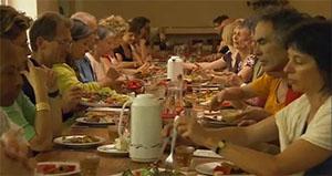 retraite spirituelle : repas en silence à Hauteville