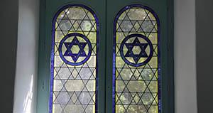 Salle d'étude juive